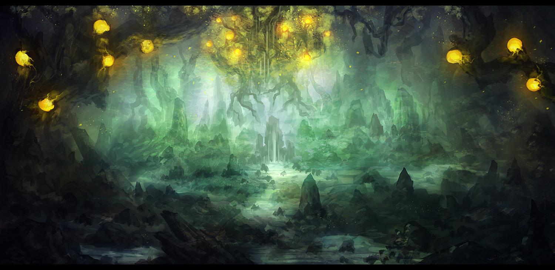 Nature's Ravine by Narandel