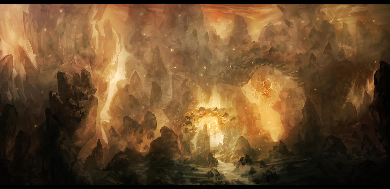 Molten Spires by Narandel