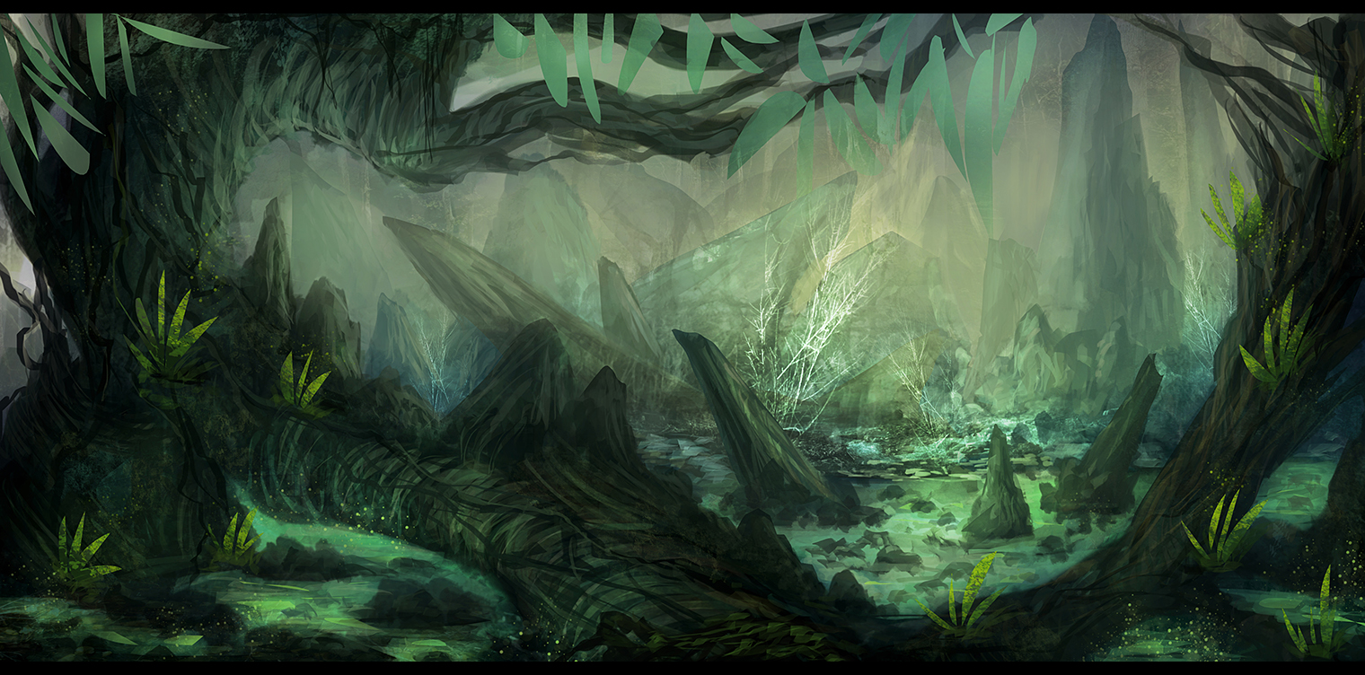 Environment Painting 1 by Narandel