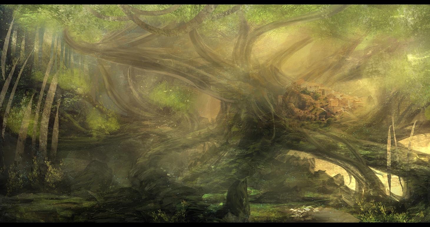 Village Of Eden by Narandel