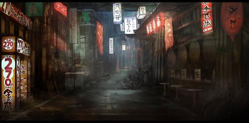 Neon Tokyo Alley