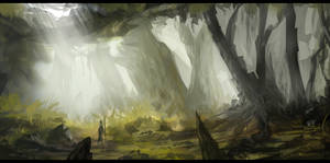 Sunday Lunch Environment Sketch