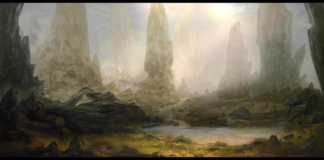 Rock Plains by Narandel