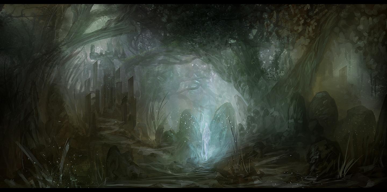 Forest Spirit by Narandel
