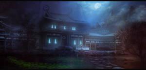 Neon Tokyo: Twilight Temple by Narandel