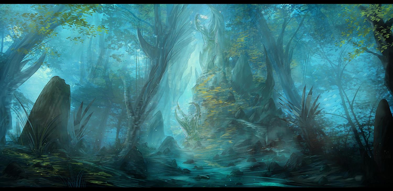 Misty Marshes by Narandel