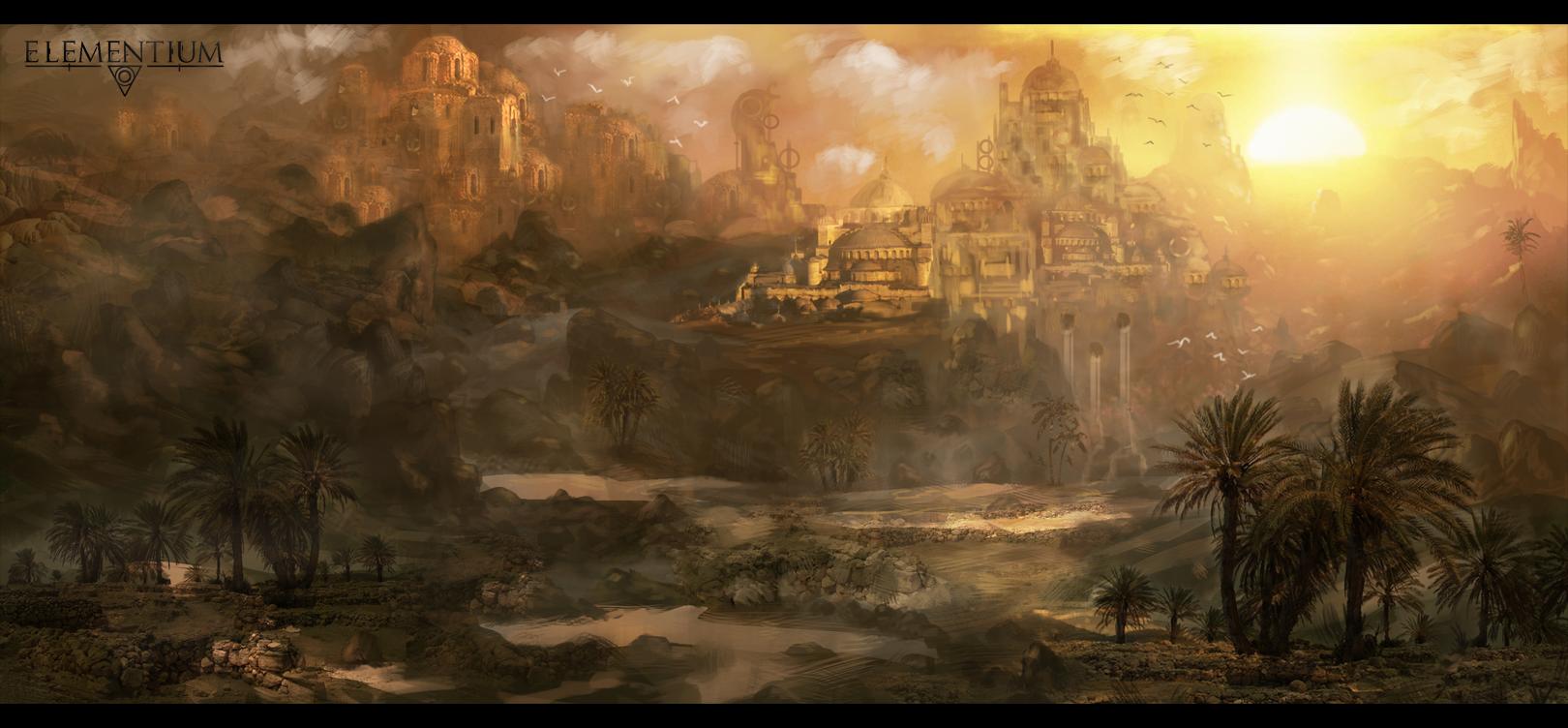 Project Elementium - Saradim Desert by Narandel