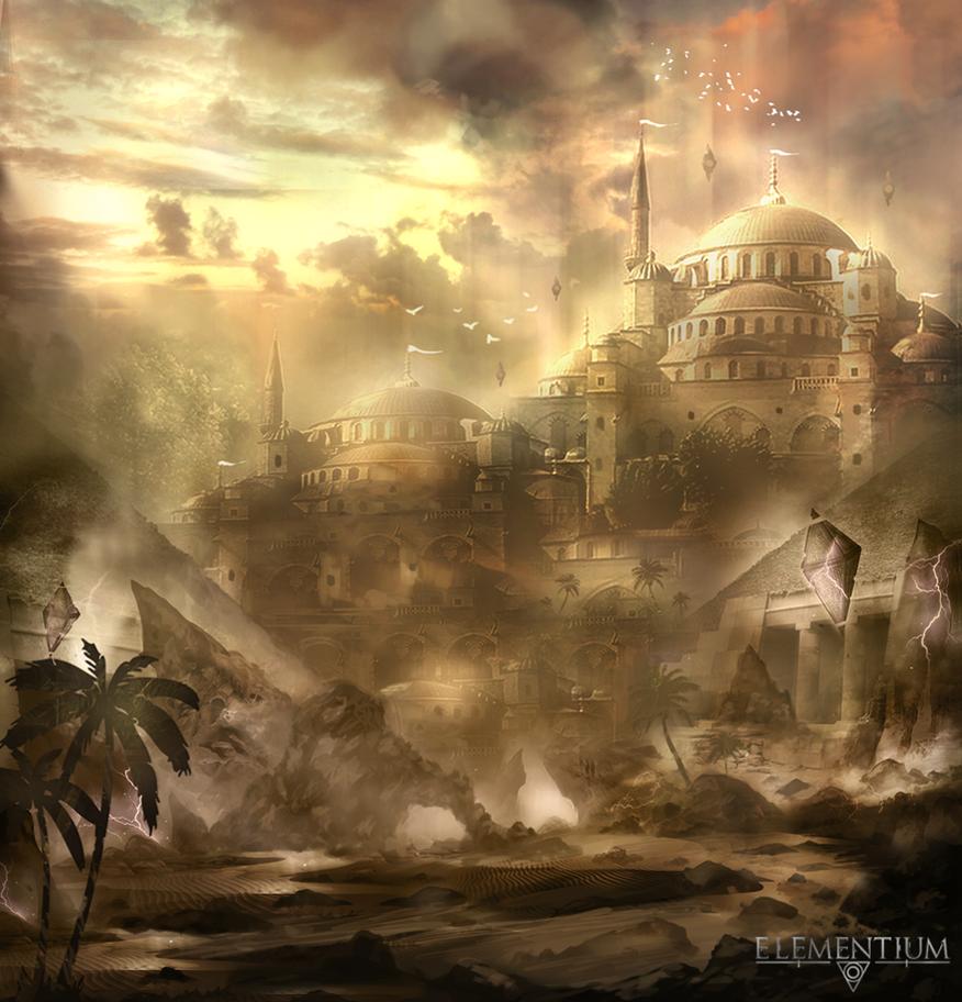Project Elementium - Saradim Palace by Narandel