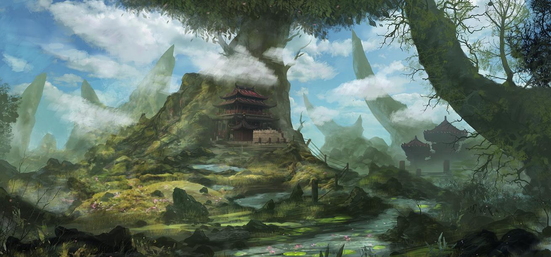 Temple Serenity by Narandel