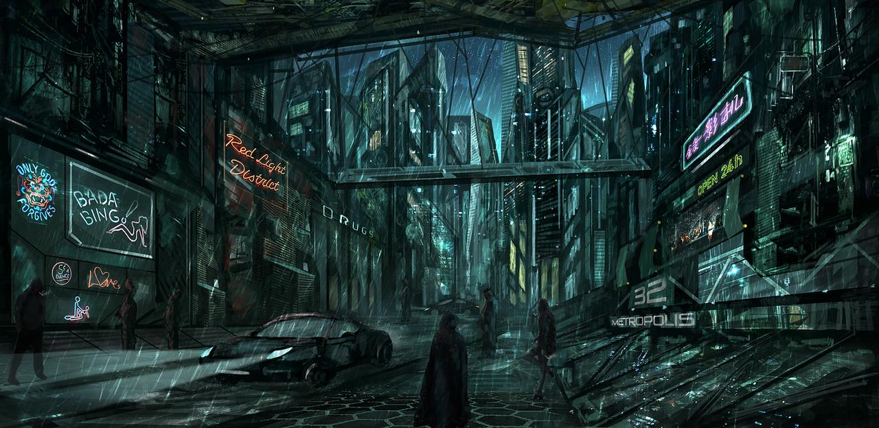 Metropolis by Narandel