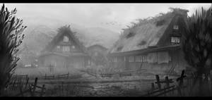 Japanese Village (Misty)