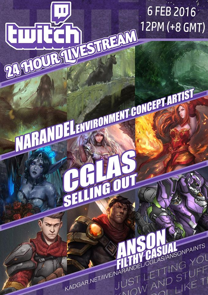 24 Hour Livestream Session by Narandel
