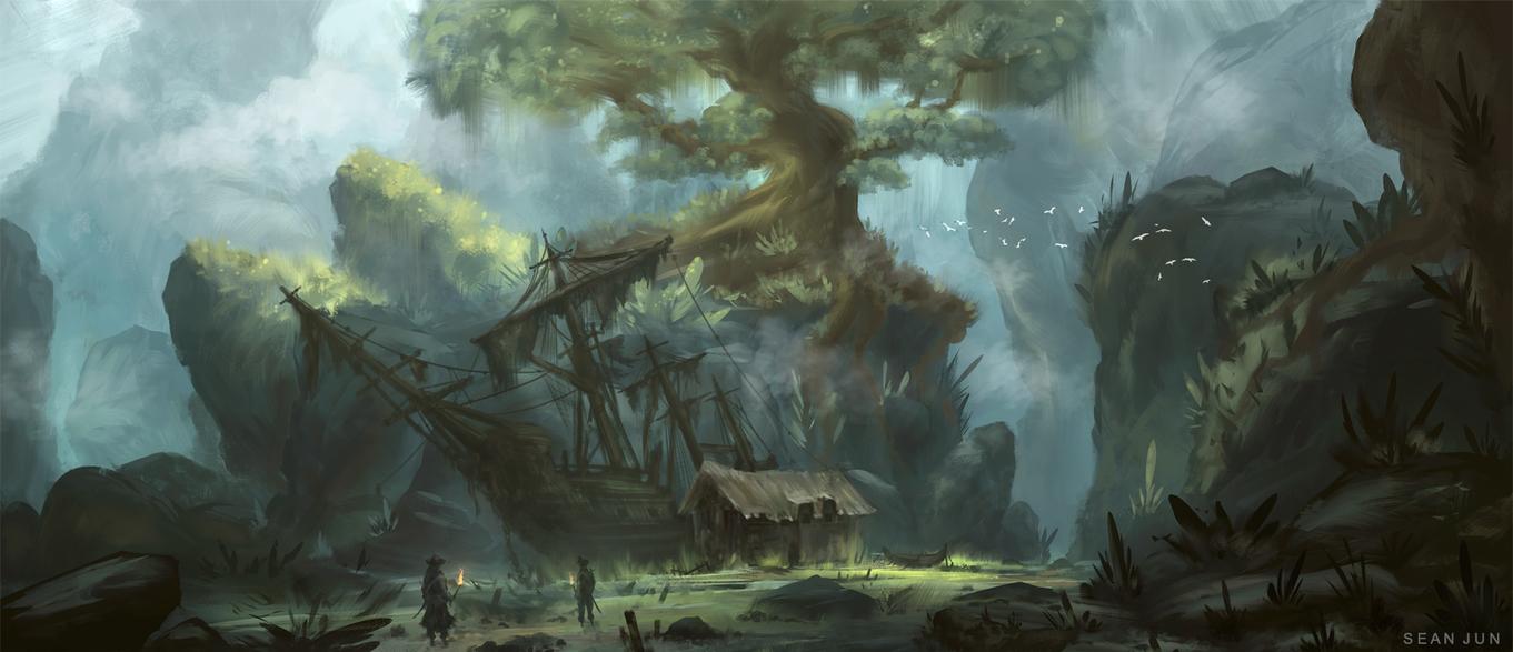 Pirate's Cove by Narandel