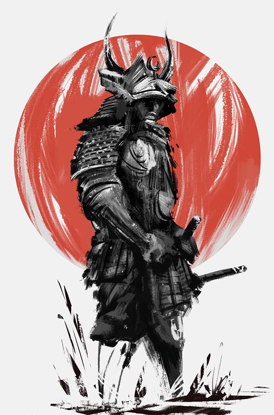 Samurai by Narandel