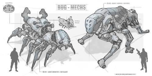 Bug Mechs