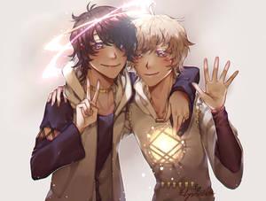 [C] Valerian and Lucien