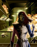 Mistique vs Skrulls