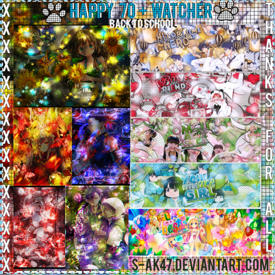 - [27082017- Share ] Happy 70+ watcher . PSD all o by anhkute2k4