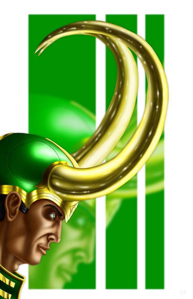 Loki, God of Mischief by halwilliams