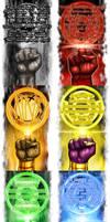 Lantern Corps Oaths by halwilliams