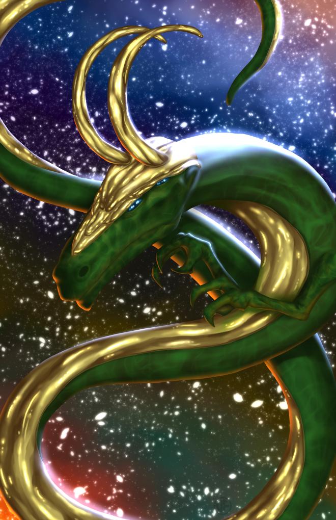 Dragon Villain - Loki by halwilliams