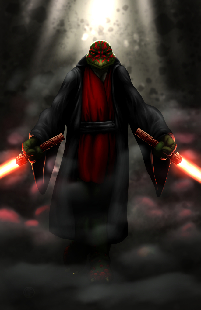 Leonardo, the Sith Lord by halwilliams