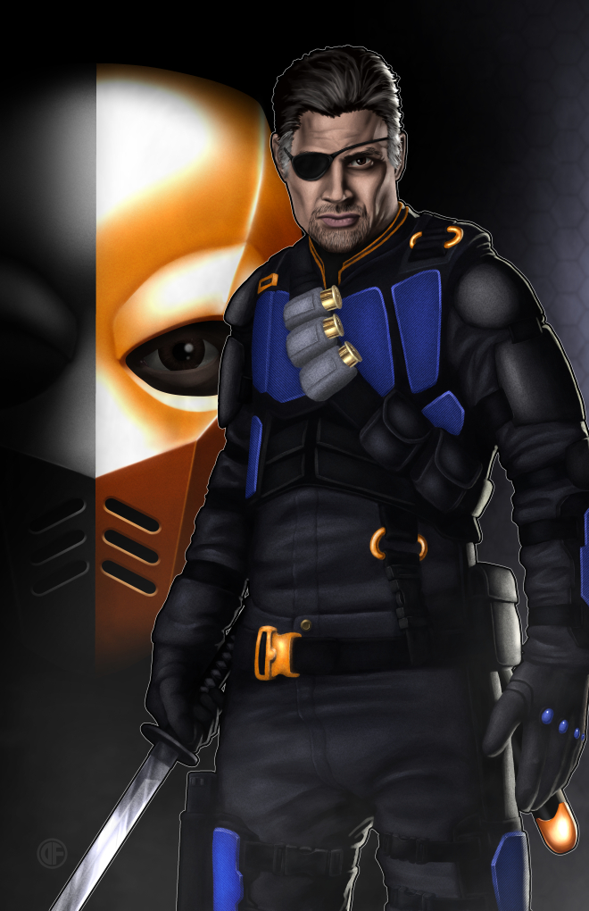 Deathstroke by halwilliams