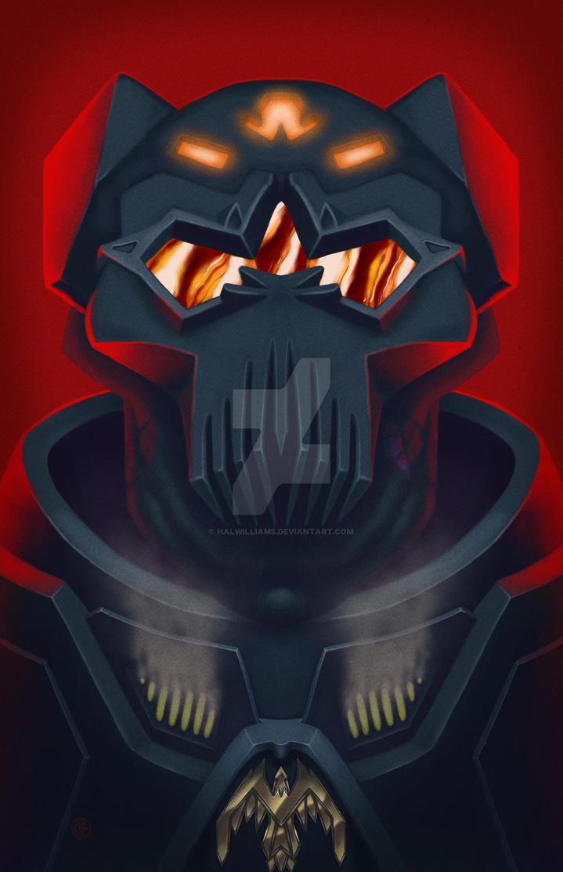 Cyborg General by halwilliams