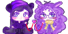 :P: Purple pixel Heart by Limachuu