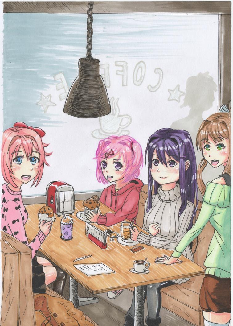Doki Doki Winter Special! by AverageGuardLucas