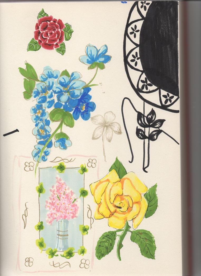 Flower decoration test by AverageGuardLucas