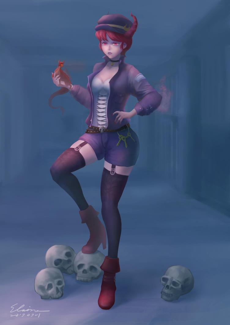 Devil Warden by elainechen