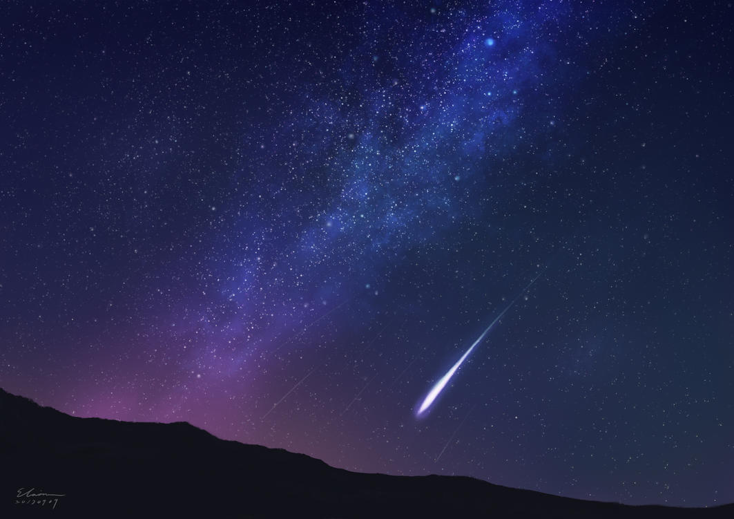 Shooting Star by elainechen