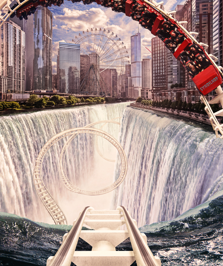 Rollercoaster City by svaniland