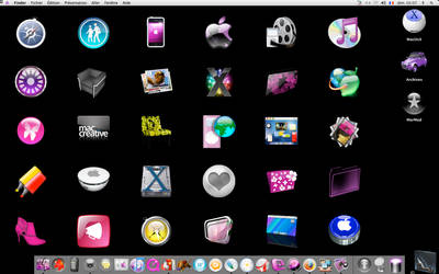 Wall of icons by Pinkie75