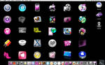 Wall of icons