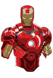 Iron Man (WIP) by noahk15