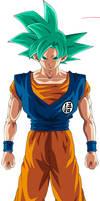 Goku Super Saiyan God (Dimension 67)