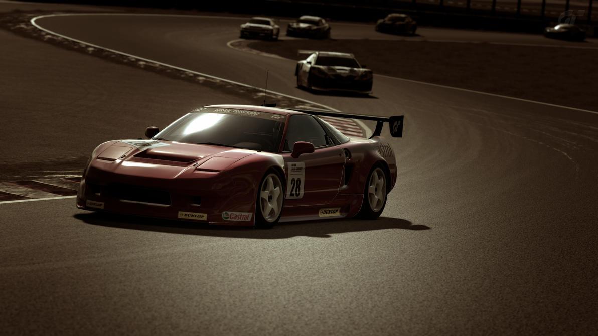 Acura Nsx Lm Race Car
