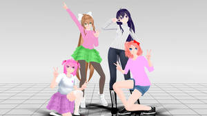 DDLC Casual Model Pack