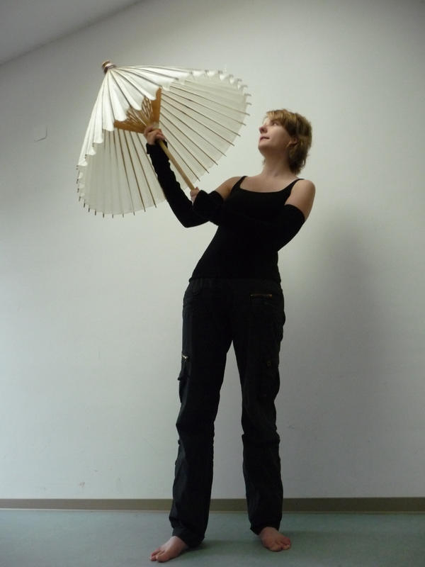 me and my umbrella I by mimose-stock