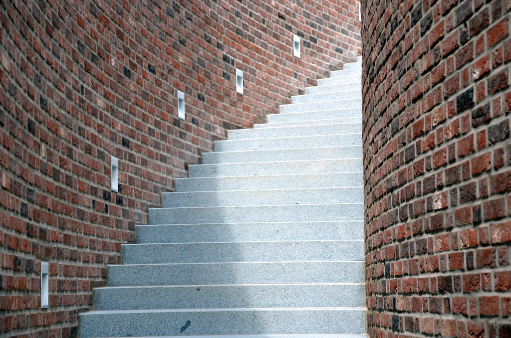 curved stairs by mimose-stock