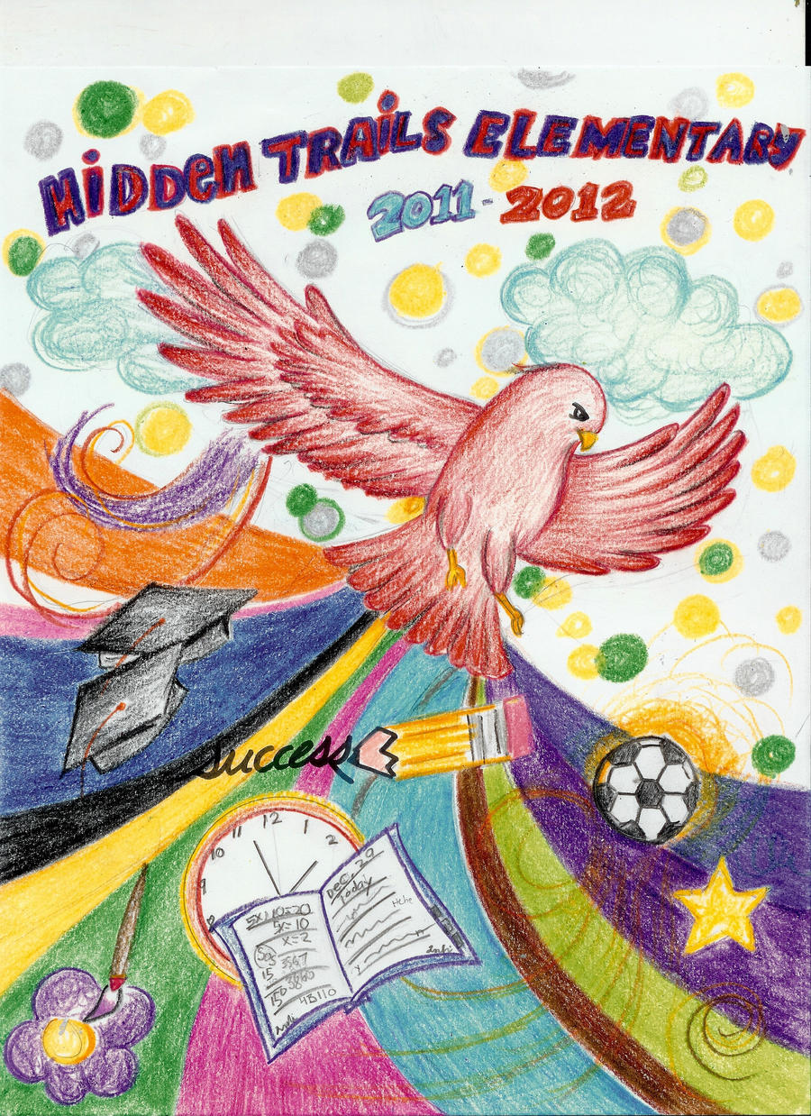 Yearbook Cover Drawing ~ Yearbook cover entry by weaver of destiny on deviantart