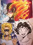Boku no Hero Sketches