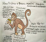How to Draw a Generic Monkey