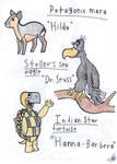 Art Style Practice Animals