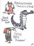 Art Style Practice Animals 3