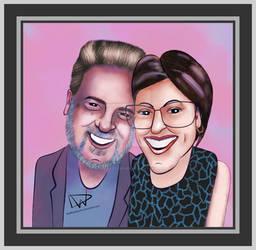Steve Elliot and Ms. K