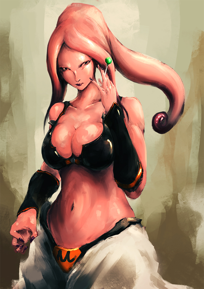 rule 63 : The Majin Buu - girl by benevolencer on DeviantArt