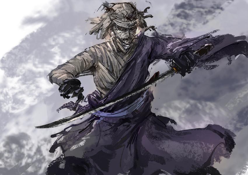 1h - Shishio Makoto by benevolencer